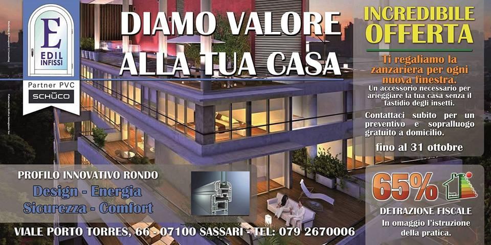 Offerte edil infissi pvc sassari for Infissi in pvc sassari